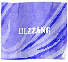 ULZZANG - BLUE Poster