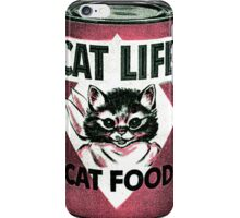 Vintage Cat iPhone Case/Skin
