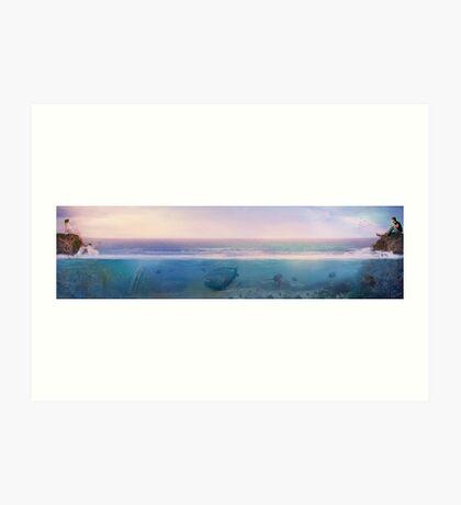 Only An Ocean Away Art Print