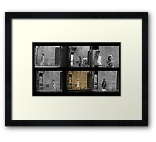 passing Framed Print