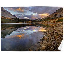 Tioga Sunset - - HDR Poster