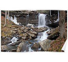 Falls of Hills Creek Poster
