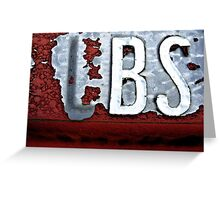 BS Greeting Card