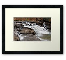 Campbells Falls II Framed Print