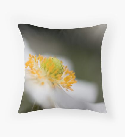 All about the bokeh Throw Pillow