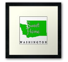 Washington Sweet Home Washington Framed Print