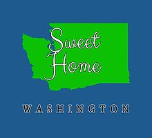 Washington Sweet Home Washington by Greenbaby