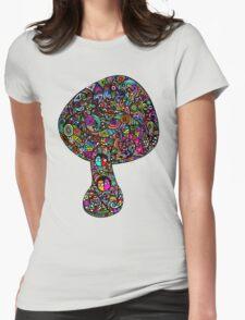 Mushroom Dreams Womens Fitted T-Shirt