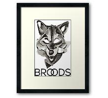 Broods Framed Print