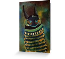 MONSTER TRIBE Greeting Card