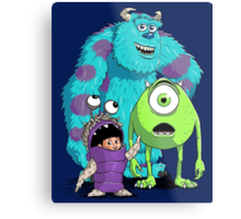 Monsters, Inc. Metal Print