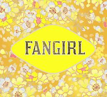 FANGIRL - FLORAL YELLOW by CynthiaAd