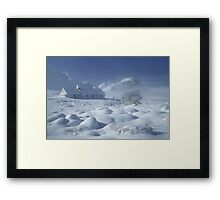 Blackrock Cottage, Glen Coe, Highland Scotland. Framed Print