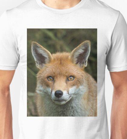 Red Fox portrait Unisex T-Shirt