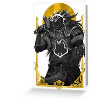 King of Thieves Greeting Card