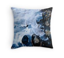 Water Arrested Throw Pillow