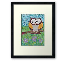 whooo are you Framed Print