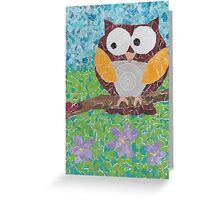 whooo are you Greeting Card
