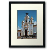 Facade of Quiroga Church Framed Print