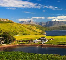 Gesto Farm, Loch Harport, Isle of Skye. Scotland. by photosecosse /barbara jones