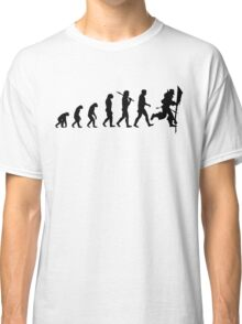 Evolution of Leeroy Classic T-Shirt