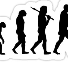 Evolution of Leeroy Sticker