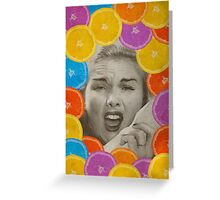 Color Chaos Collection -- Citrus Muss Greeting Card
