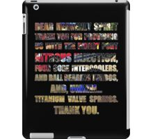 The Fast And The Furious Jesse Grace V3 iPad Case/Skin