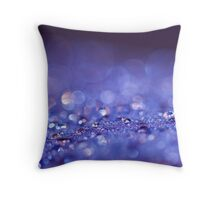 Cosytoes bokeh Throw Pillow