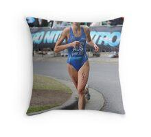 Holly Aitken Running Throw Pillow