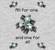Magneton #82 - All for one and one for all by NumberIX