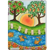 """Sunrise At The Orchard""  iPad Case/Skin"