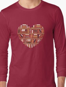 I Heart Books Long Sleeve T-Shirt