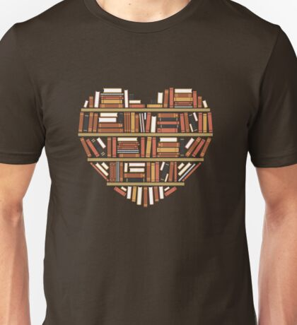 I Heart Books Unisex T-Shirt