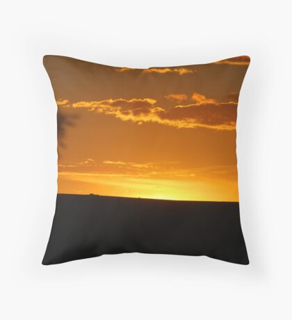 Heaven & Earth as One Throw Pillow