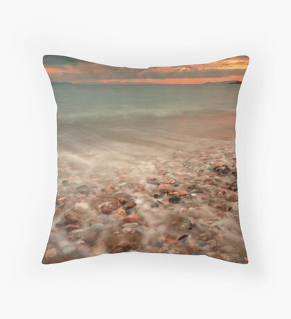Sea steam Throw Pillow