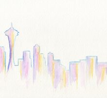 Remember Seattle by Roz Abellera Art Gallery