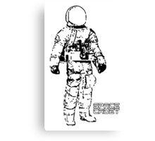 Minimalist Space Suit Canvas Print