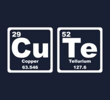 Cute - Periodic Table Kids Tee