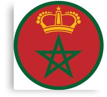 Royal Moroccan Air Force - Roundel Canvas Print