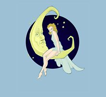 Girl in the Moon Unisex T-Shirt