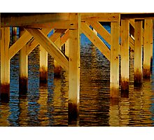 GOLDEN PIER Photographic Print