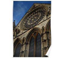 York Minster Rose Window Poster