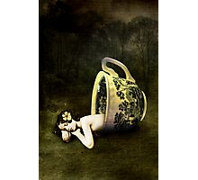 The teacup Photographic Print