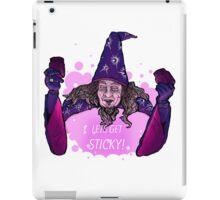wizard ivan ooze  iPad Case/Skin