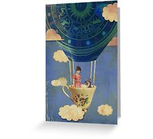 Bouncing Off Clouds Greeting Card