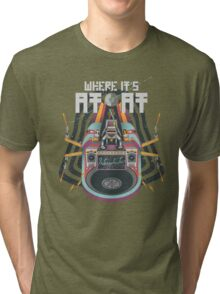 Where it's AT-AT Tri-blend T-Shirt