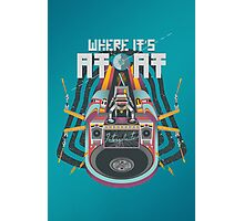 Where it's AT-AT Photographic Print