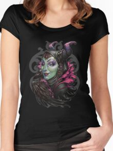 Mistress of Evil Women's Fitted Scoop T-Shirt