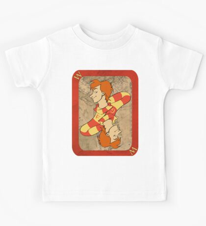 Fred and George Playing Card Kids Tee
